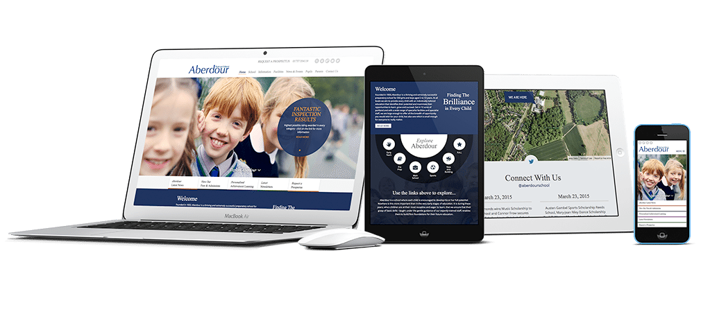 Aberdour Mobile Website Design