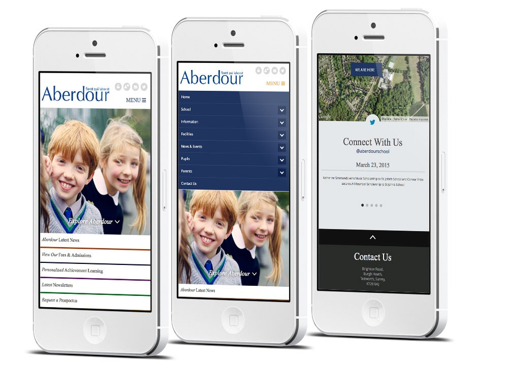 Mobile Friendly Prep School Website Design