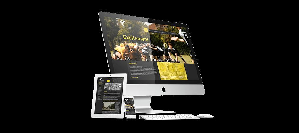 John Hampden Mobile Responsive Website Design