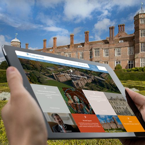 Independent School websites design by cleverbox