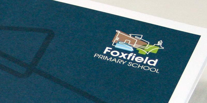 Foxfield Primary school prospectus design