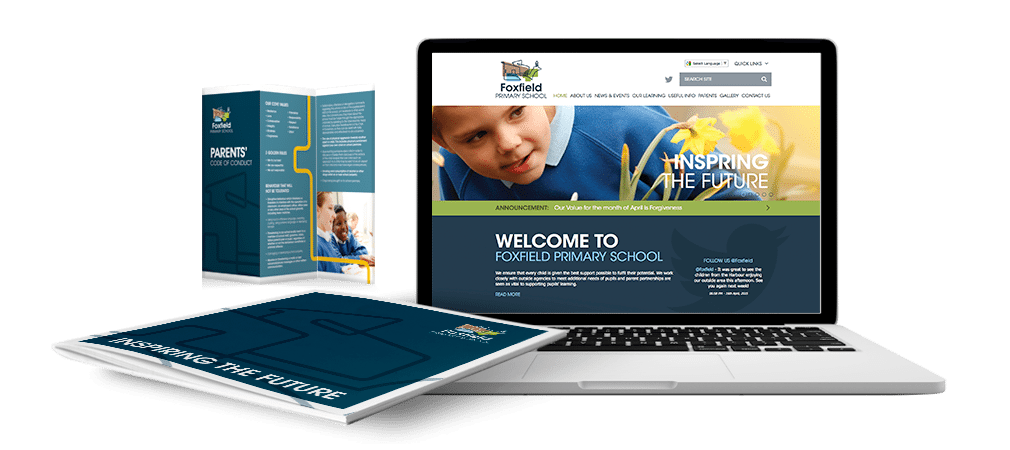 Foxfield Primary School Branding