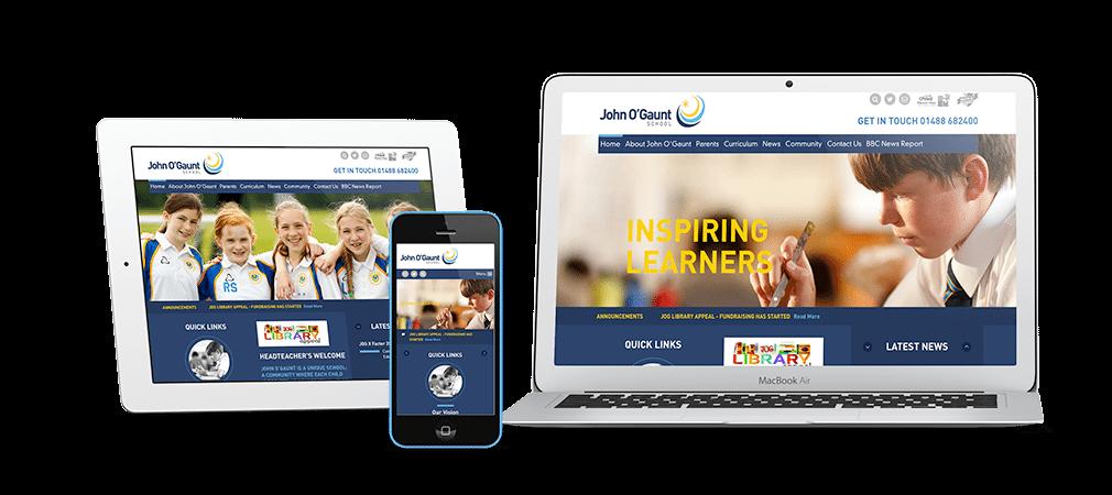 John O Gaunt Responsive Website Design