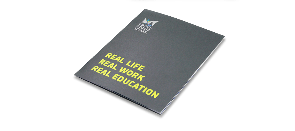 Bath Studio School Prospectus Design