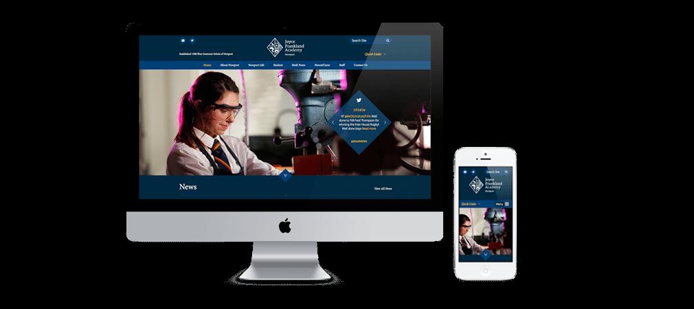 Joyce Frankland Academy Responsive Website Design