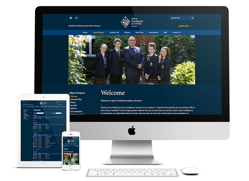 Prospectus and Website Design for Academies
