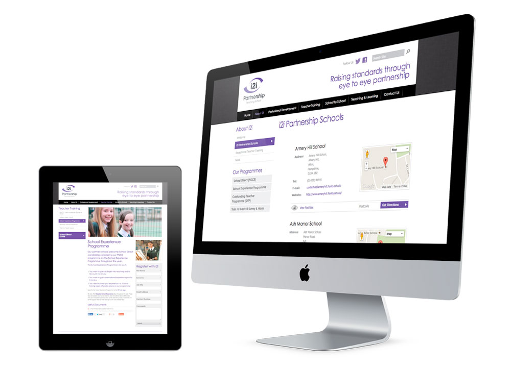 Feature rich websites for Teaching Schools