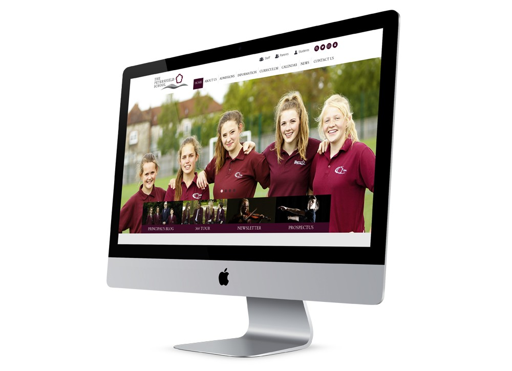 Responsive Secondary School Website