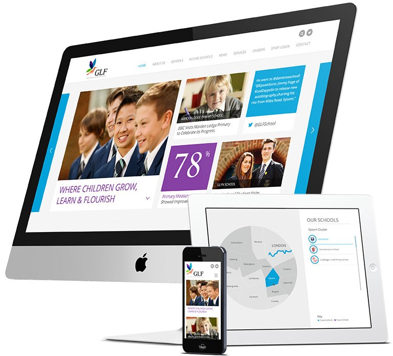 Responsive School Website Design