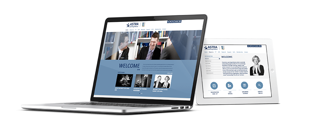 Astra Learning Alliance Responsive Website Design
