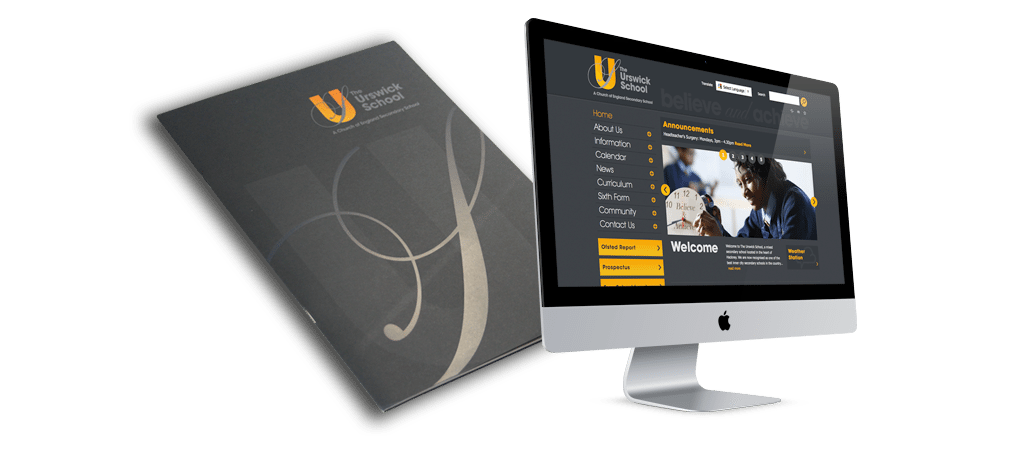 Urswick School Website and Branding Testimonial
