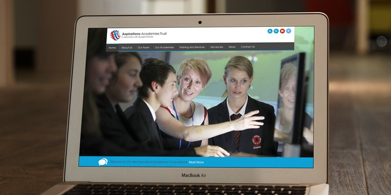 Aspirations Academies Trust Trust branding case study