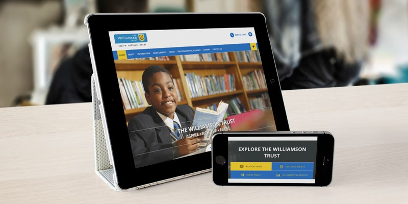 The Williamson Trust school branding case study