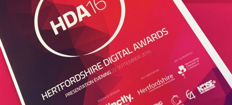 Cleverbox Website wins Herfordshire Digital Awards