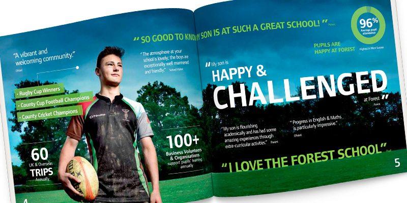 Forest school branding and website design