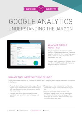 Cleverbox Google Analytics Guide