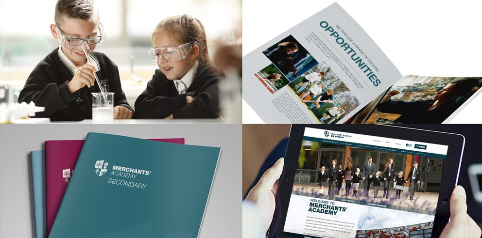 Merchants' Academy Trust Branding - School Prospectus - Branding - Website Design and Build