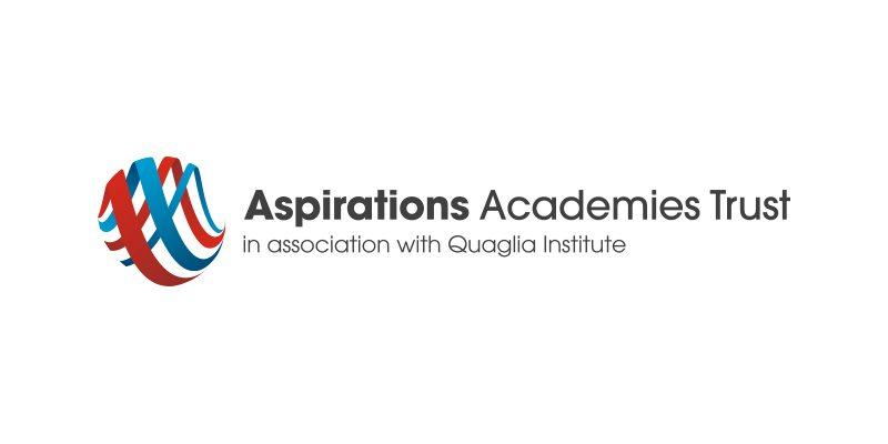 Aspirations Academy Trust logo and branding case study