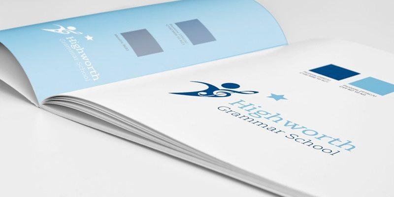 Highworth Grammar School logo and branding case study