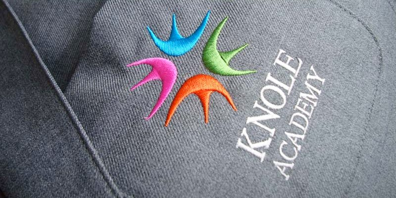 Knole Academy logo and branding case study