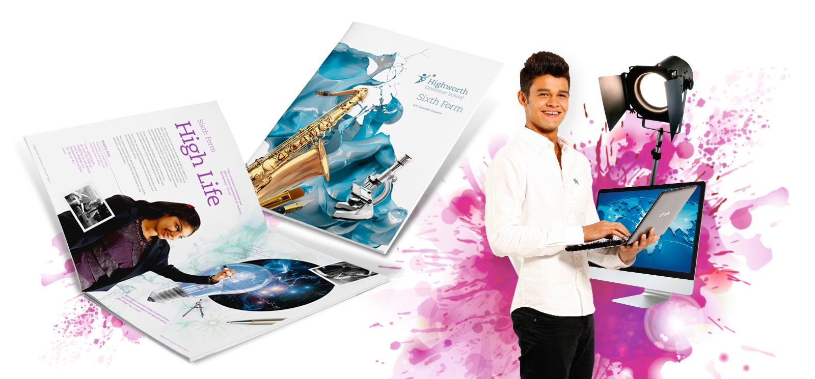 Highworth Grammar School Website and Prospectus Design