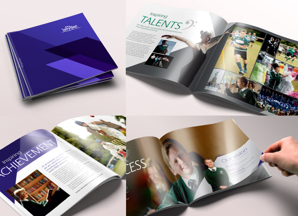 Weydon School Prospectus and Branding