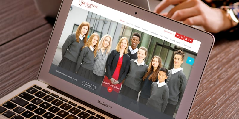Richmond West Schools Trust Website, Branding and Prospectus Design Case Study