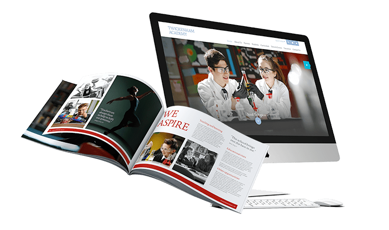 richmond west schools trust website and prospectus designs