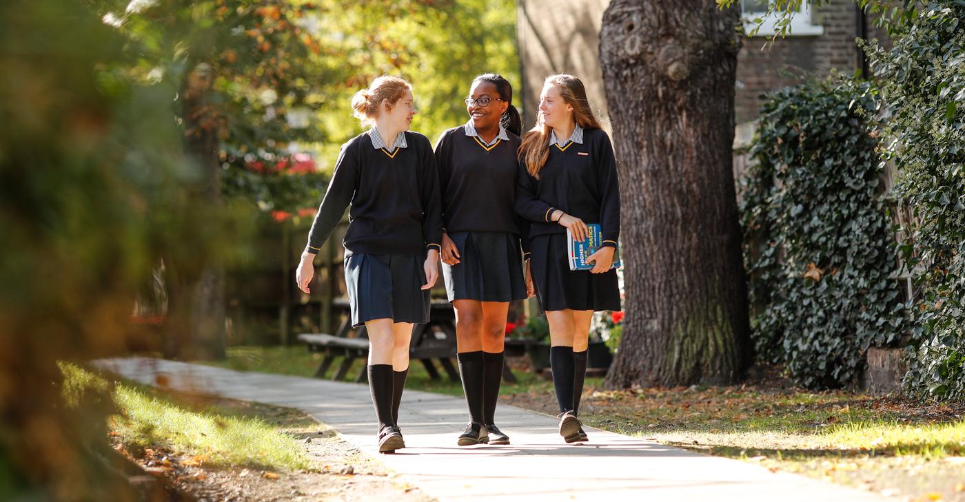 Blackheath High School Photography of students walking