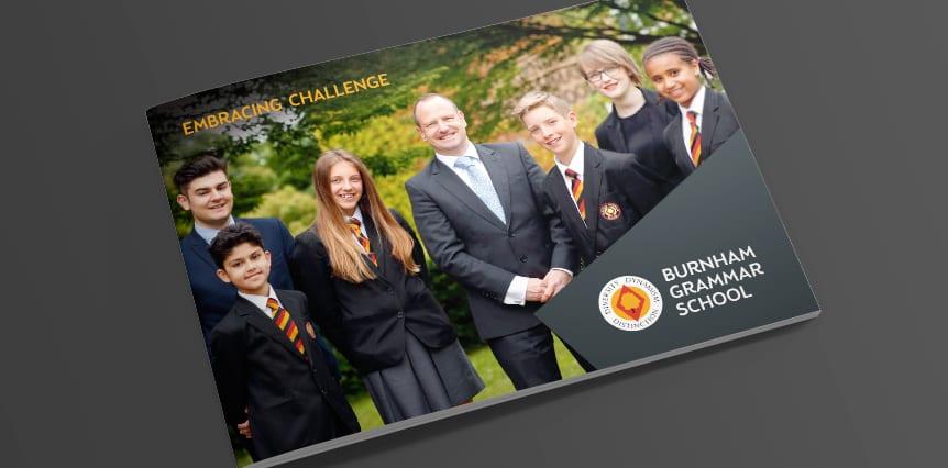 Burnham Grammar School Prospectus Design