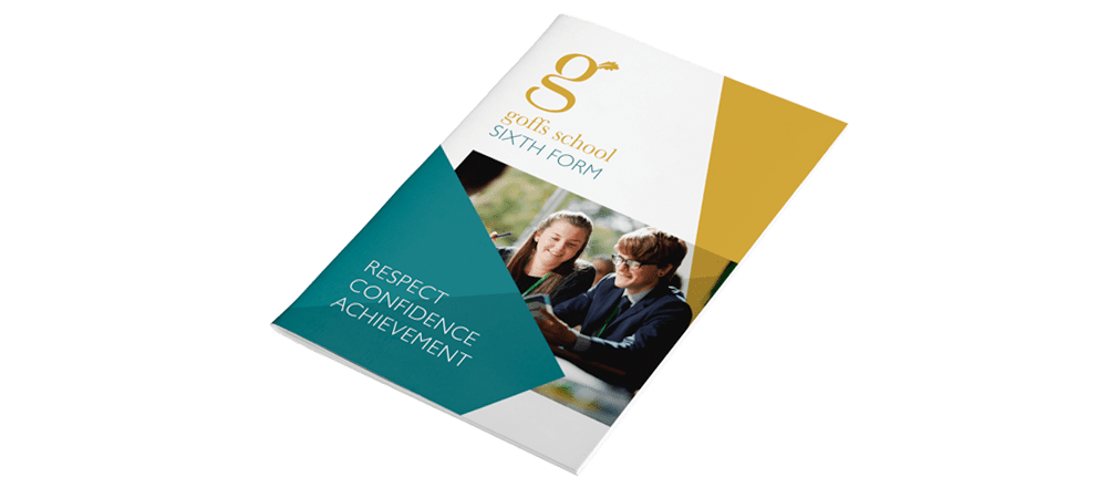 Goffs School Sixth Form Prospectus Front Cover