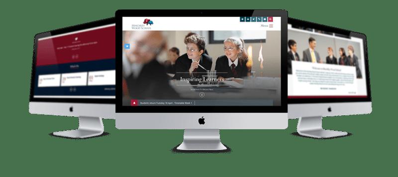 Hinchley Wood Responsive School Website
