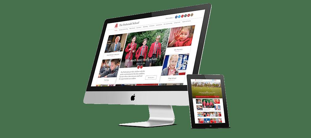 The Prebendal School website design and development