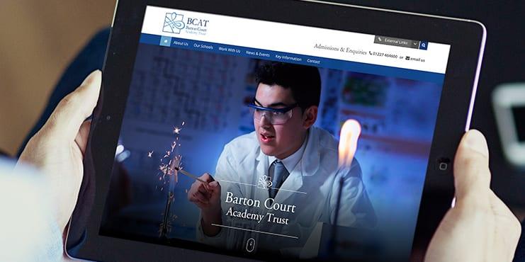 Barton_Court_Academy_Trust_Responsive_Website_Design
