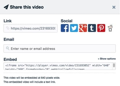 how to set up a vimeo account