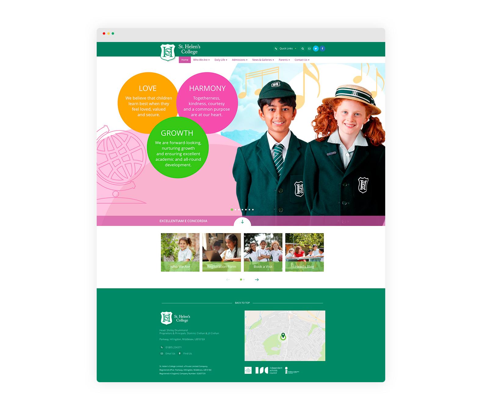 School prospectus design