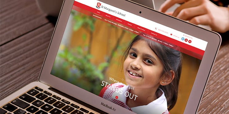 St_Margarets_School_Website_Live_in_October