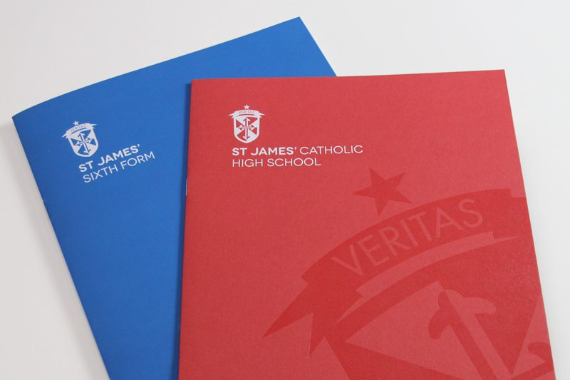 St James School Prospectus Design