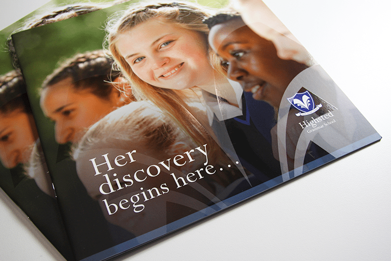 Highsted Grammar School Prospectus Photography