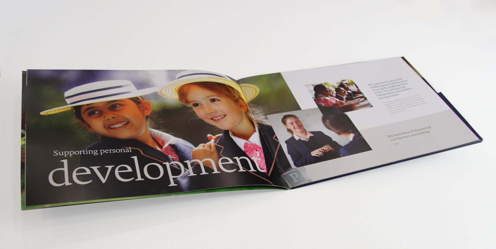 Palmers Green High School Prospectus Design