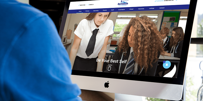 Dartmouth Academy school website