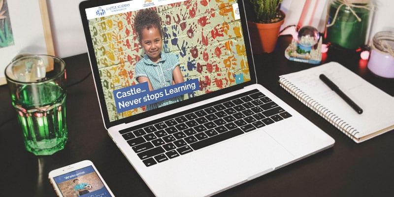 Castle Academy school websites