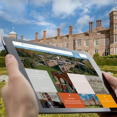 cobham hall independent school website design