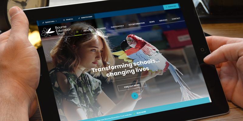 Bourne Education Trust Website