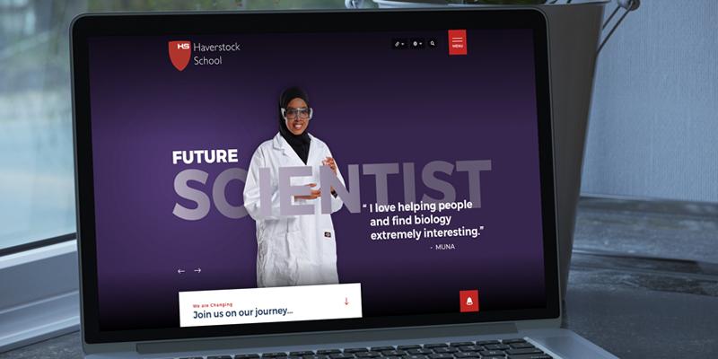 Haverstock School Website