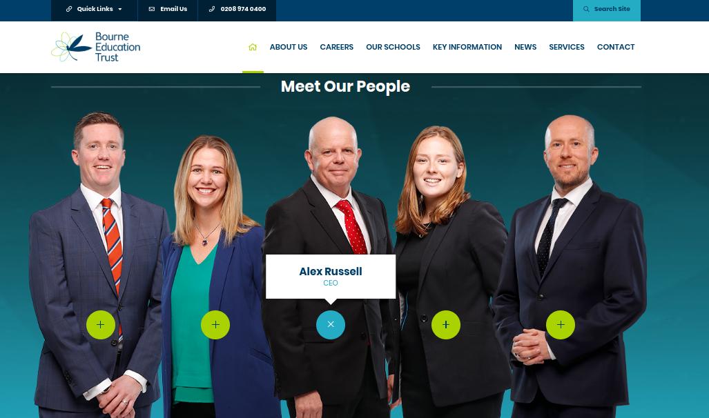 great trust websites bourne education trust