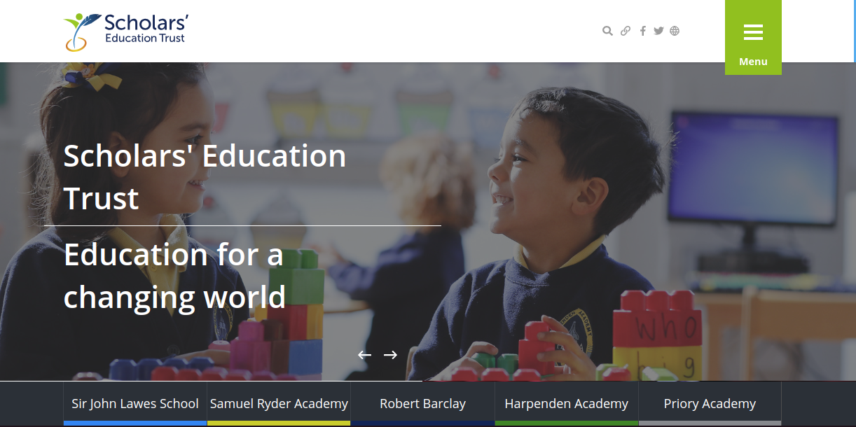 great trust websites scholars education trust