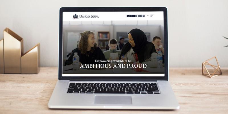 school websites chiswick school