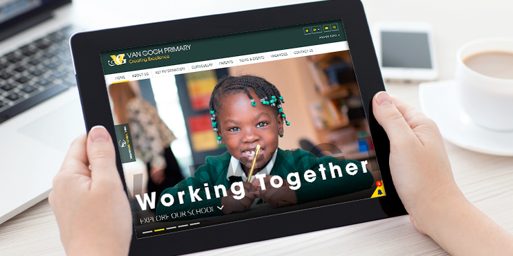 School websites van gogh primary