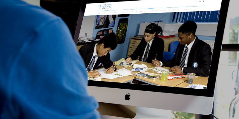 school website projects titan aston academy